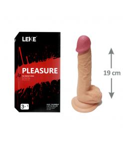 19cm Gerçekci Dildo Penis