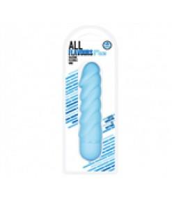 All Flavours Bükülebilir Titreşimli Silikon Vibratör (Mavi)
