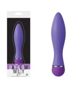 Day Glow Willy Modern Vibratör - Mavi..