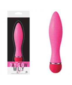 Day Glow Willy Modern Vibratör - Pembe..