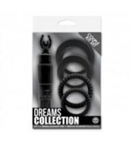 Dreams Collection - Çiftlere Özel Zevk Seti - Siyah