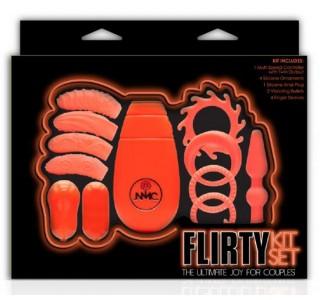 Flirty Kit Çiftler için Aşk Seti 3 (Turuncu)