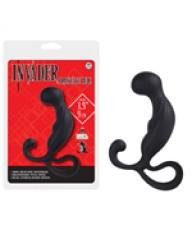 Invader Prostate Plug Siyah Anal Tıkaç